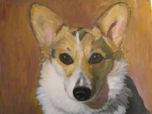 Custom Made Dakota-- Custom Dog Pet Portrait