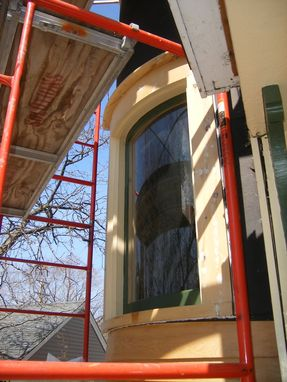 Custom Made Curved Window Sashes And Casing