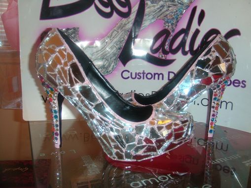Custom Made Mirror Mirror On The Shoe