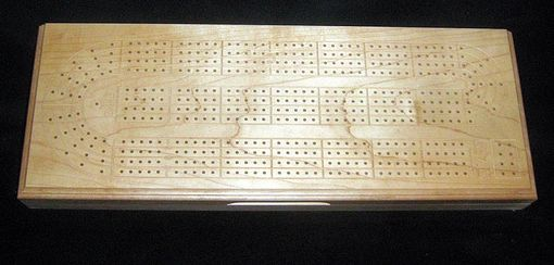 Custom Made Custom Four Person Box Style Cribbage Board