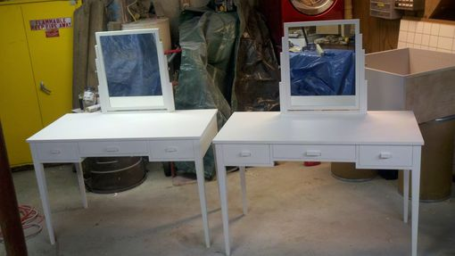 Custom Made Maple Dressing Table