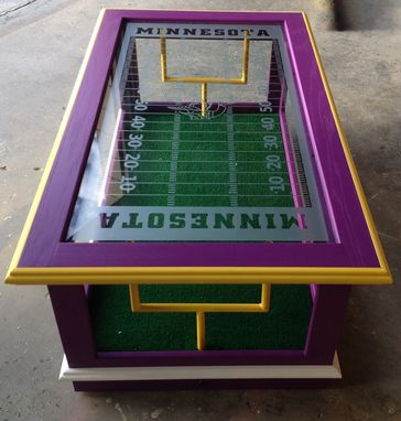Custom Made Nfl Coffee Table