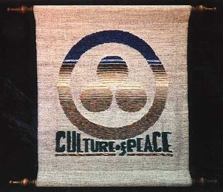 Custom Made Culture Of Peace Wall Hanging