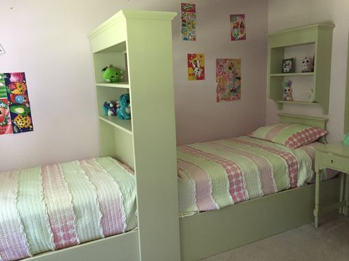 Custom Made Sister Twin Beds