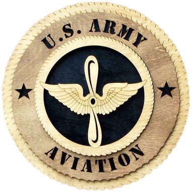 Custom Made U.S. Army Aviation Wall Tribute, U.S. Army Aviation Hand Made Gift