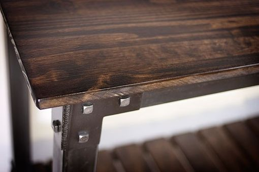 Custom Made Rustic Console Table, Occasional Table, Buffet, Credenza