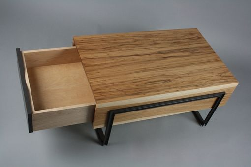 Custom Made Match Box Coffee Table