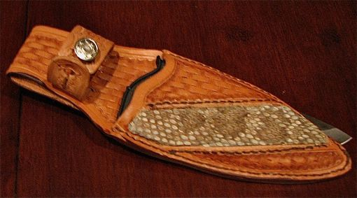 Custom Made Leather Knife Sheaths