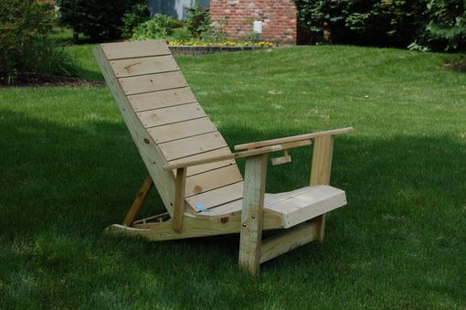 Custom Made Reclining Outdoor Chair