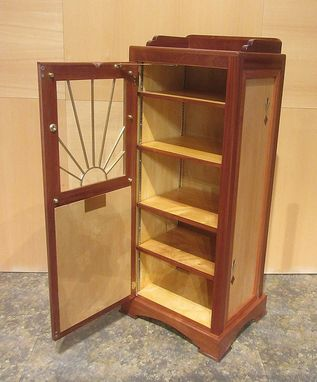 Custom Made Art Deco Bookcase
