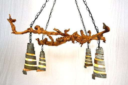 Hand made old vine dolcetto grapevine chandelier by wine country old vine dolcetto grapevine chandelier aloadofball Image collections