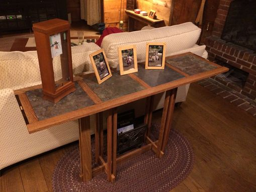 Custom Made Mission Style Sofa Table