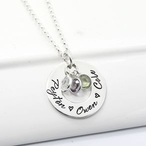 custom personalized jewelry custom engraved jewelry nameplate