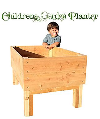 Custom Made Children's Garden Planter