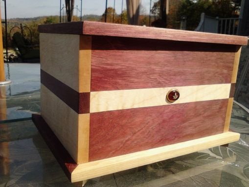 Custom Made Custom Urn With Masonic Emblem
