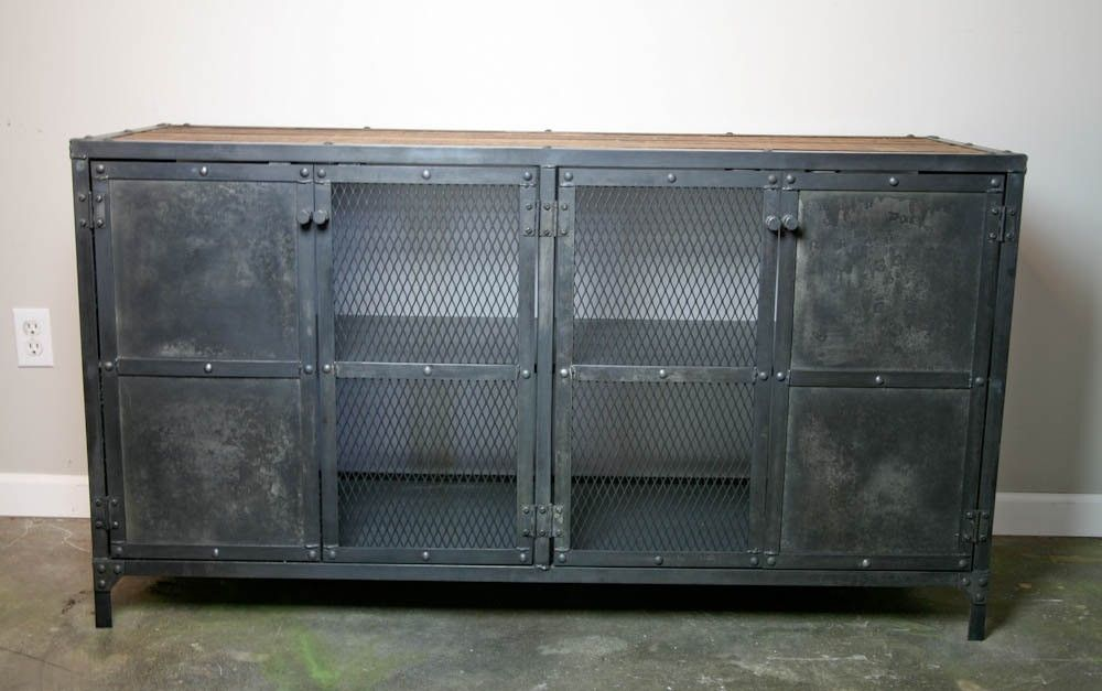 Buy a Hand Made Liquor Cabinet, Bar Vintage/Modern Industrial ...