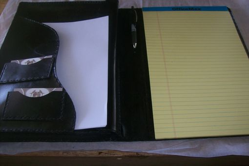 Custom Made Sanjays Legal Size Portfolio And Computer Case