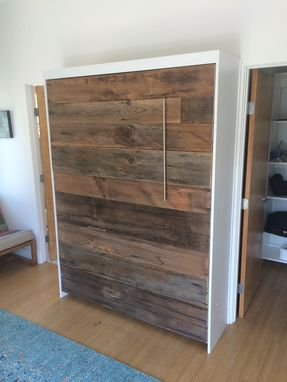 Custom Made Custom Barnwood Murphy Bed