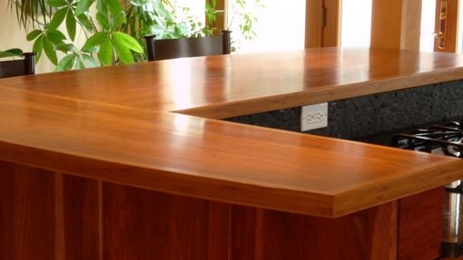 Custom Made Bamboo Counter Top
