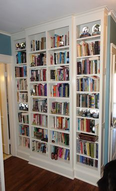 Custom Made Hallway Built In Bookcases