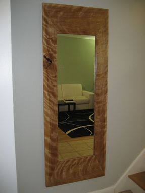Custom Made Hardwood Mirror