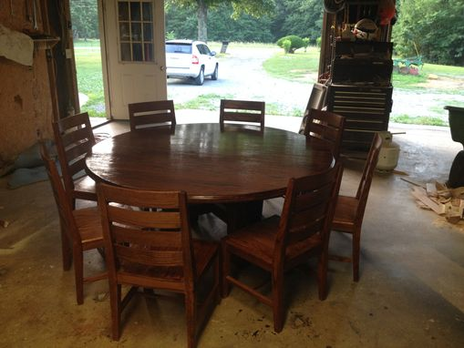 Custom Made Dining Tables W/Chair