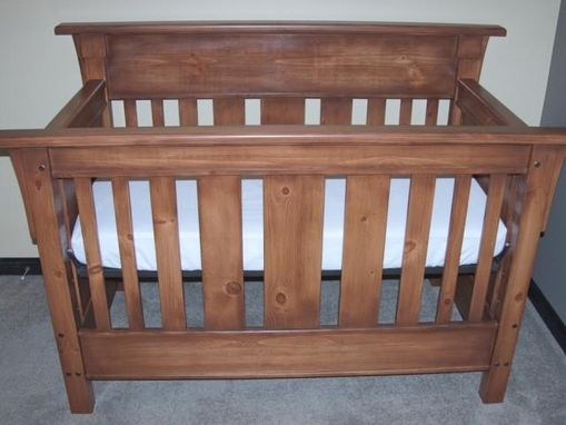 Custom Made Convertible Crib For Emilia