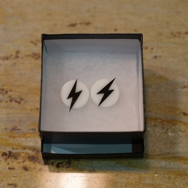 Custom Made Customized Superhero  Cufflinks In Acrylic