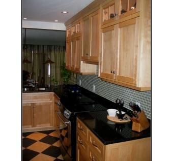 Custom Made Yellow Birch Kitchen