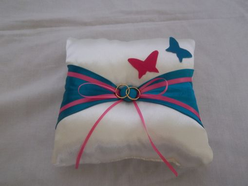 Custom Made Ring Bearer Pillow