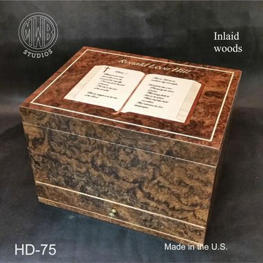 Custom Made Handcrafted Humidor's Made In The U.S.  Hd-75-1