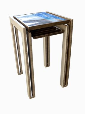 Custom Made La Jolla Image Changeable Tables