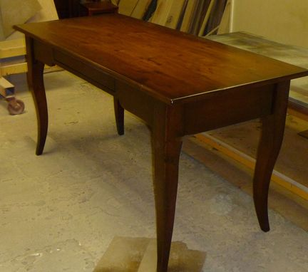 Custom Made Cabriole  Desk