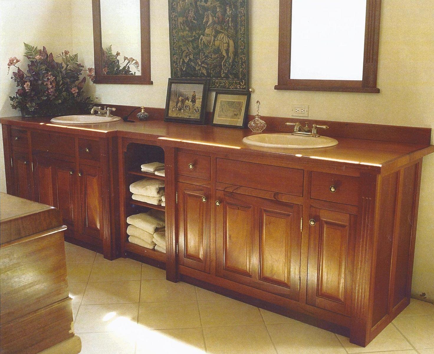 Hand Made Bathroom Vanities By Jim S Cabinet Shop Custommade Com