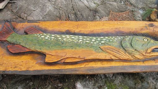 Custom Made Pike Plaque