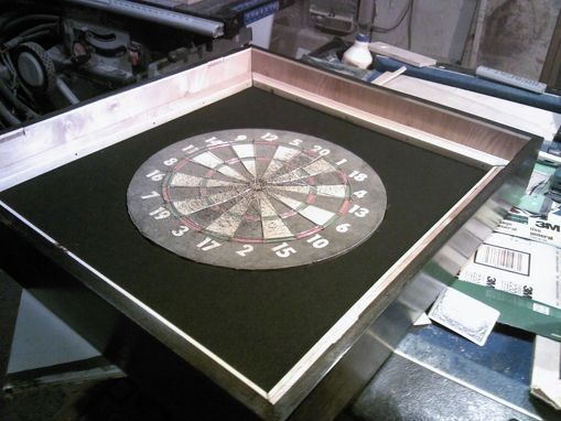 Custom Made Dartboard Case
