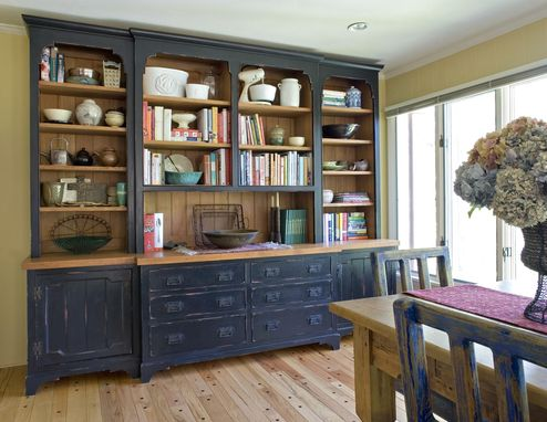 Custom Made Painted Hutch