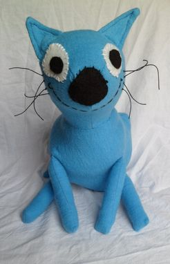 "Custom Made Sam's Blue Cat ""Purry"""