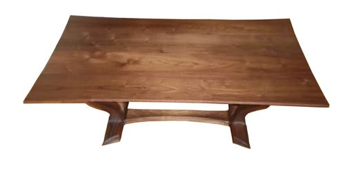 Custom Made Flow, Japanese Inspired, Sculpted, Coffee Table