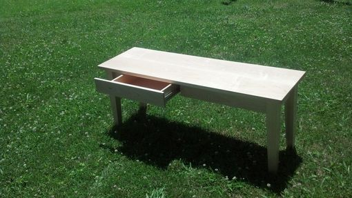 Custom Made Thin Coffee Table