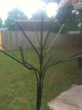 Custom Made Bottle Tree