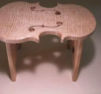 Custom Made Fiddle Stool