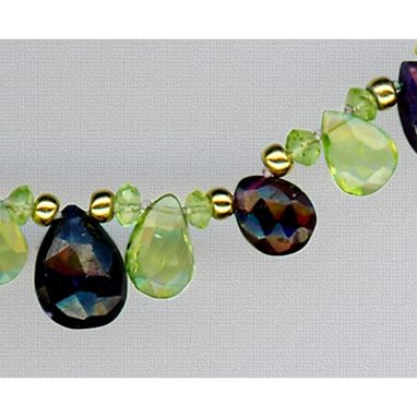 Custom Made Aurora Borealis Necklace