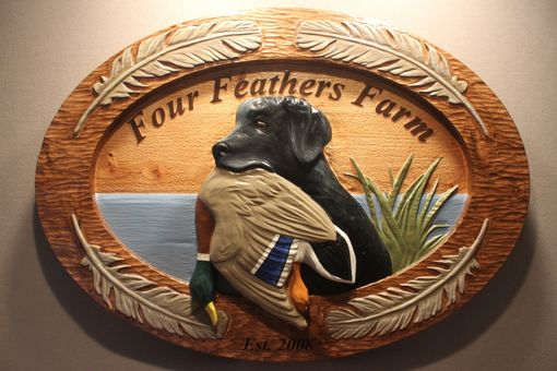 Custom Made Custom Farm Signs, Dog Signs, Hunting Cabin Signs By Lazy River Studio