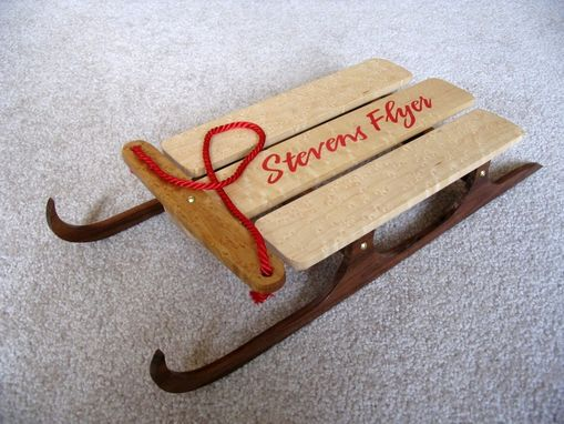 Custom Made Decorative Heirloom Sled