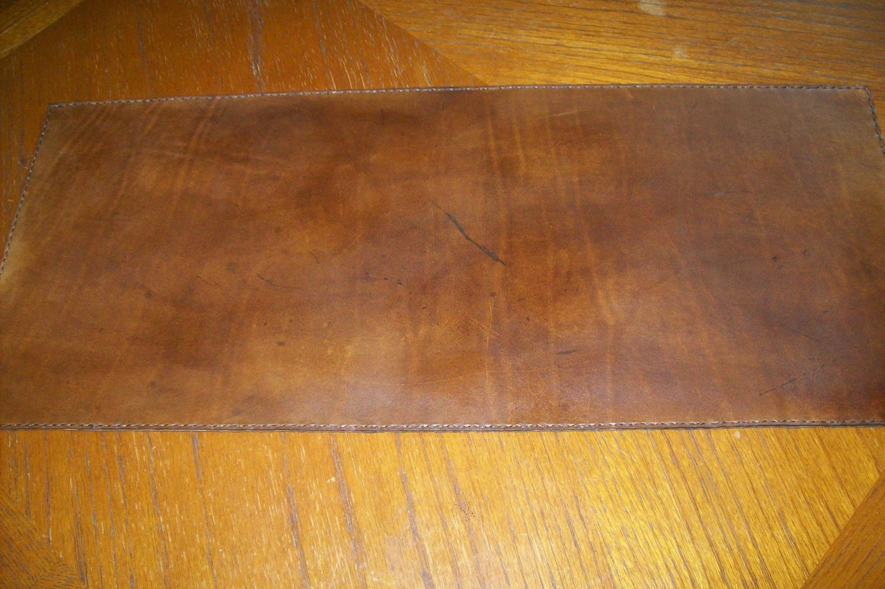 handmade custom leather desk pad by kerry s custom leather