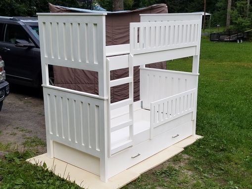 Custom Made Bunk Bed/ Double Twin Bed Combo