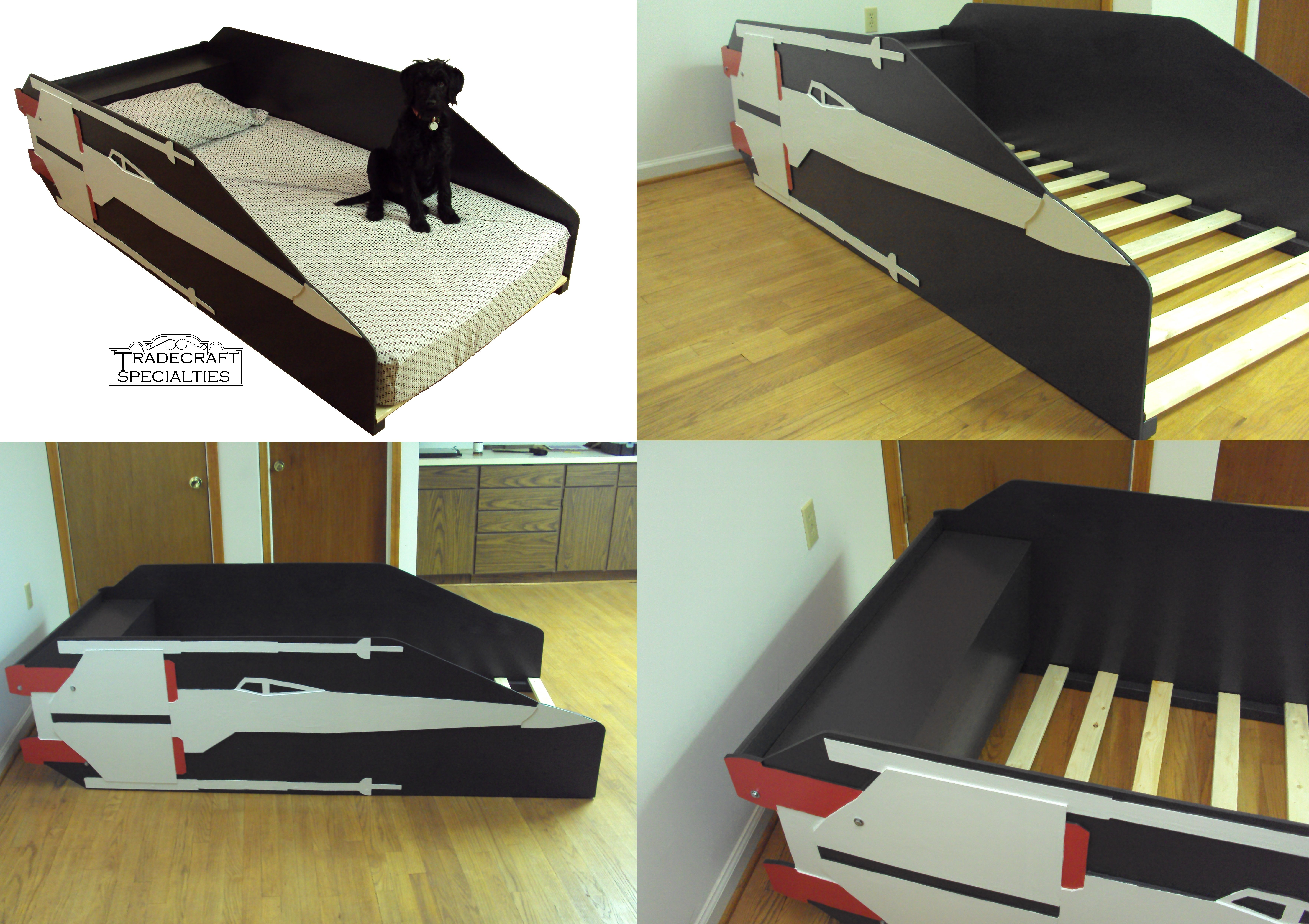 Buy a Handmade X-Wing Starfighter Twin Kids Bed Frame - Handcrafted ...
