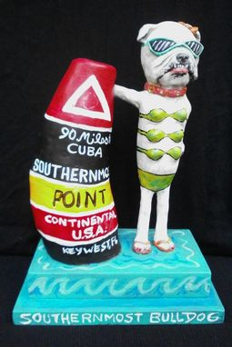 Custom Made Dog Or Cat Caricature Gourd Sculpture