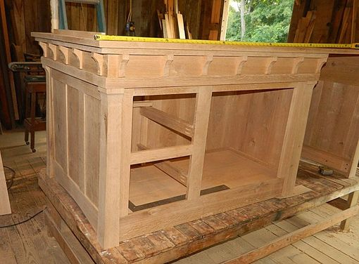 Handmade Arts And Crafts Style Kitchen Island by PAUL'S ...